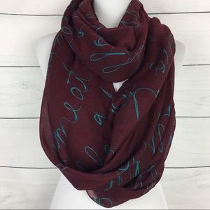 TopShop 'You Had Me At Hello' Infinity Scarf